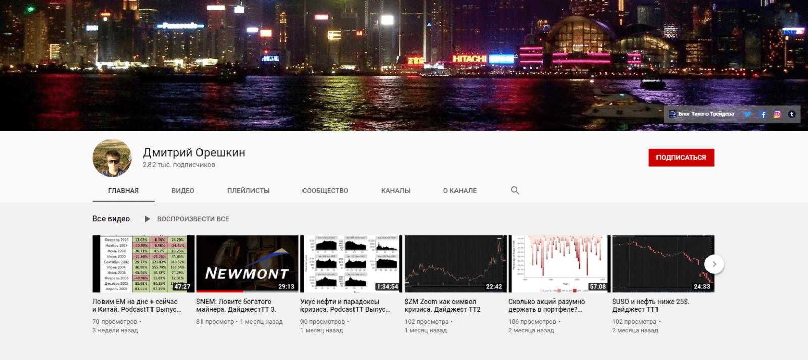тихий трейдер youtube