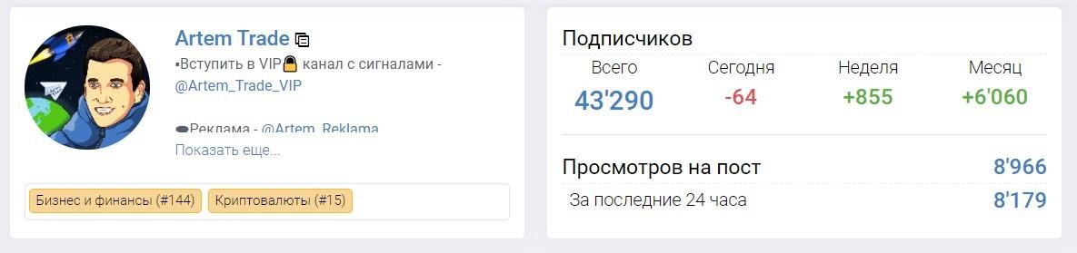 Артем Трейд первью
