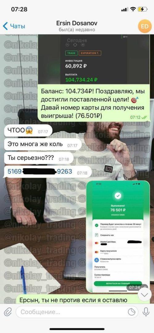 Nikolay trading отзывы