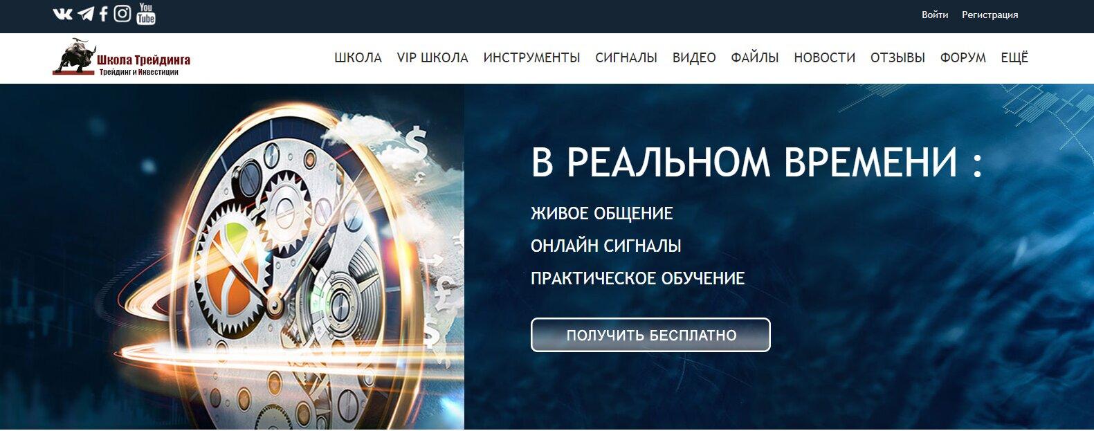 Ресурс трейдера Рената Сейтурова
