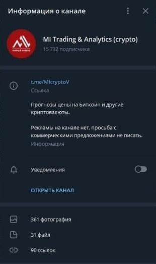 Телеграм канал Мещерякова