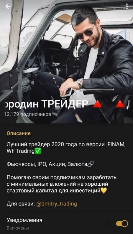 Телеграм канал Бородина