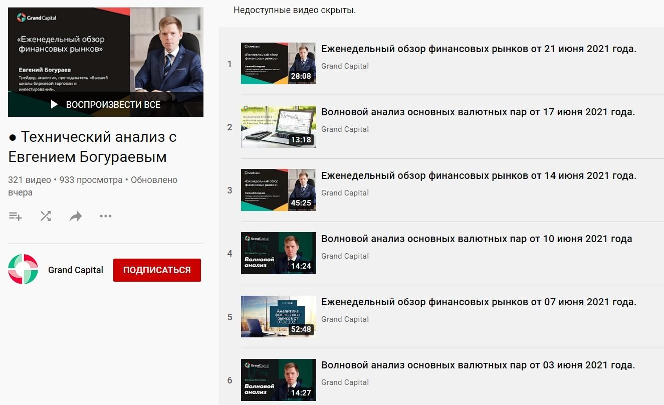 Ютуб канал Евгения Богураева