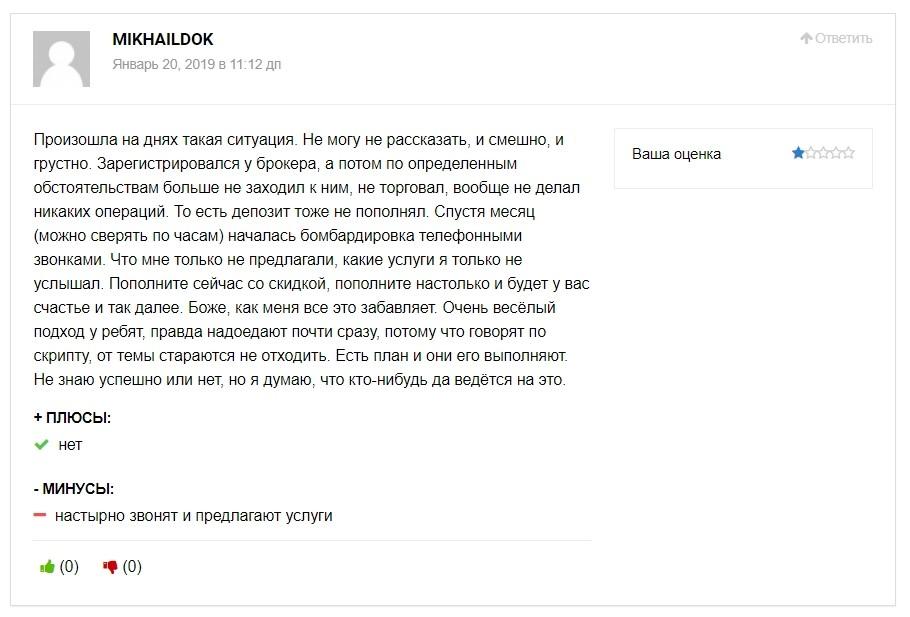 Biforex Ltd отзывы