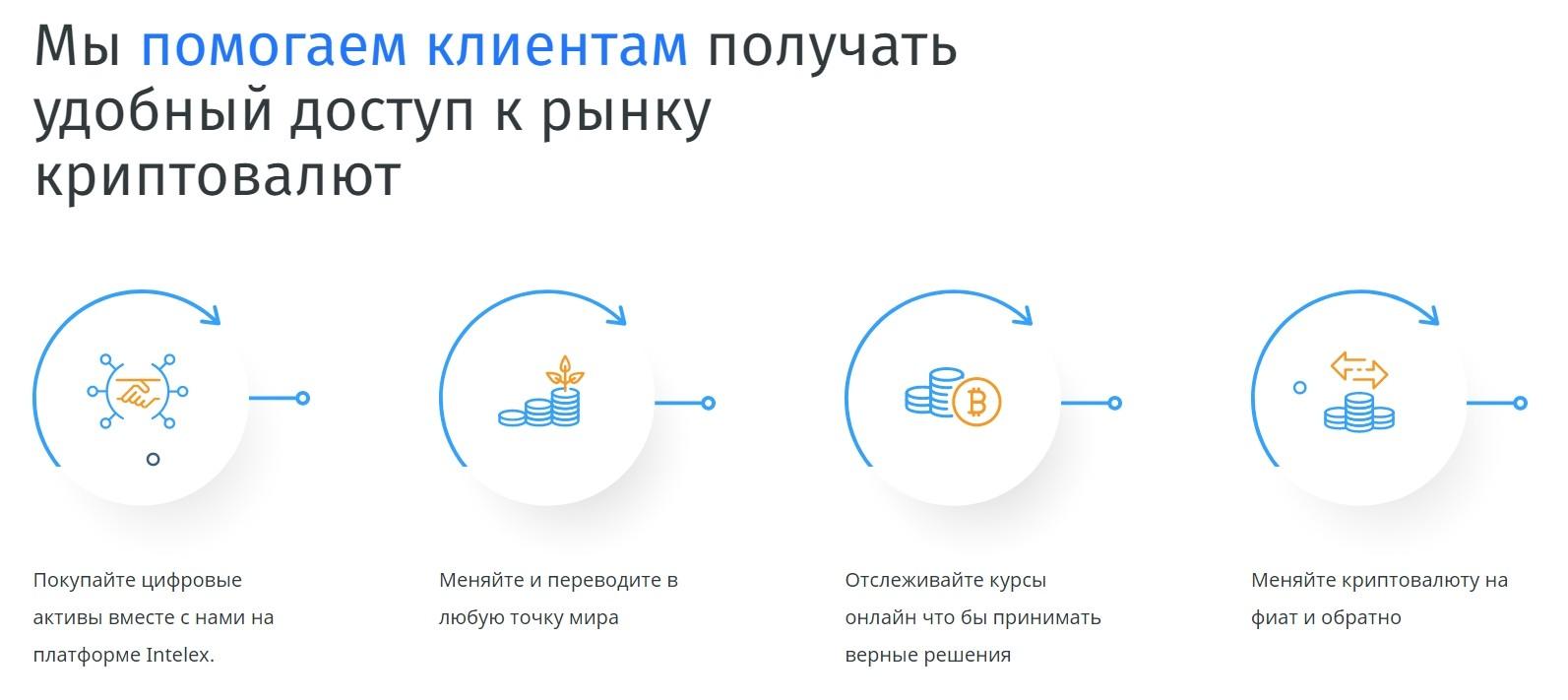 Деятельность компании Intelex