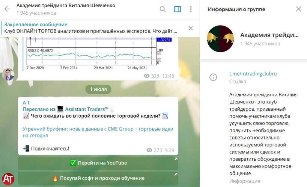 Ресурс Виталия Шевченка