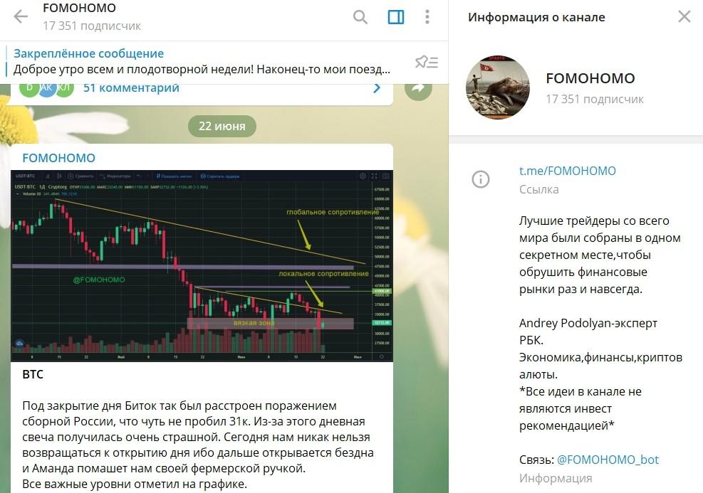 Канал Телеграм Андрея Подоляна