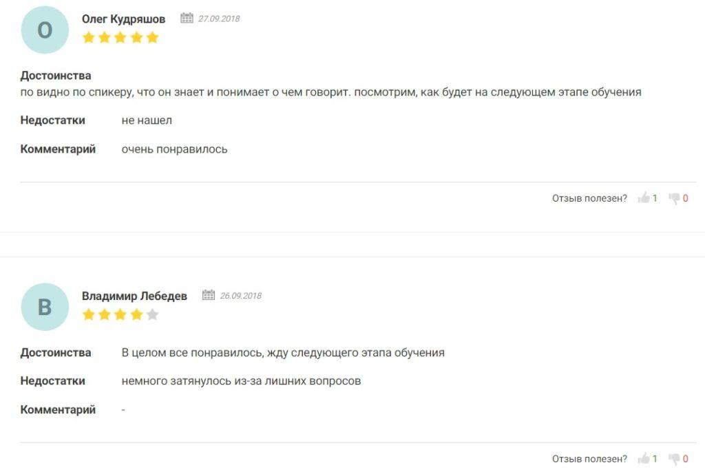 Отзывы о трейдере Виталии Шевченко