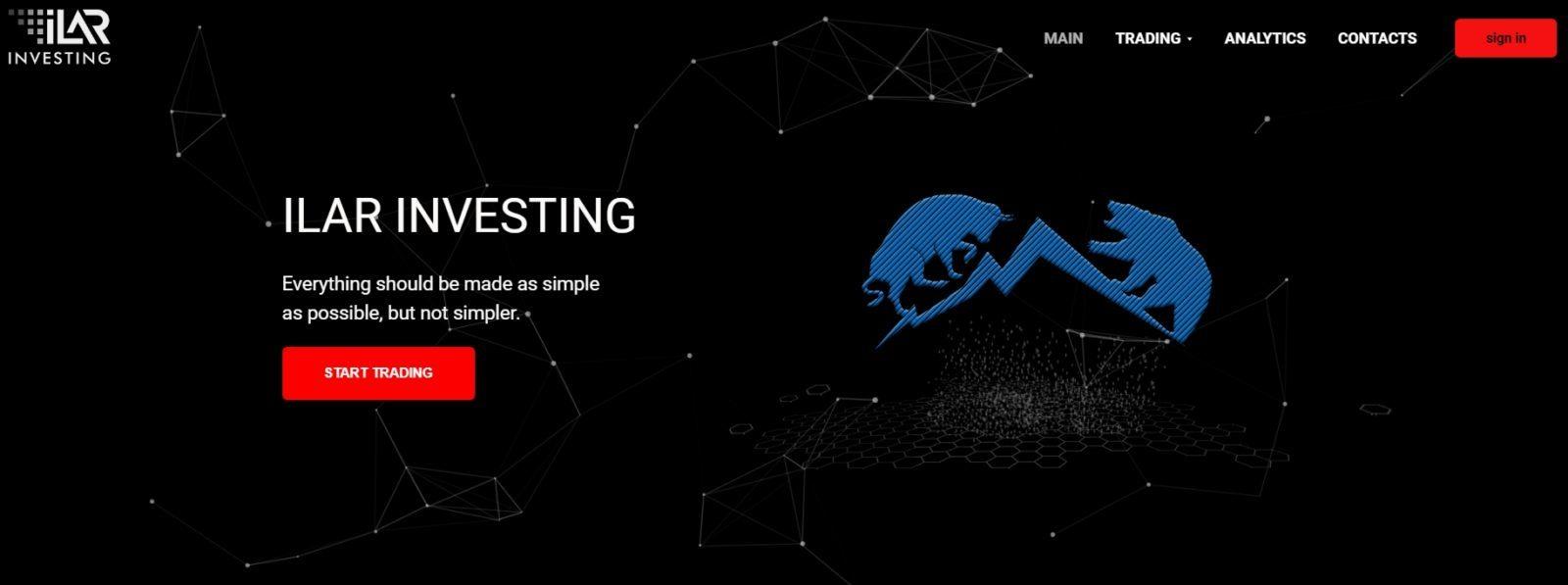 Платформа Ilar Investing