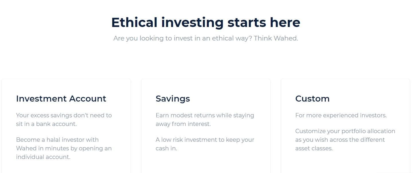 Обзор сайта Wahed Invest