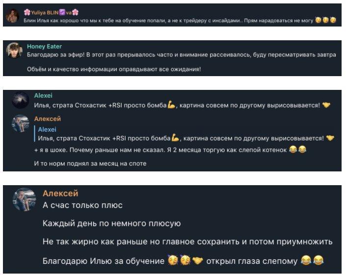 Отзывы об Илье Соловье