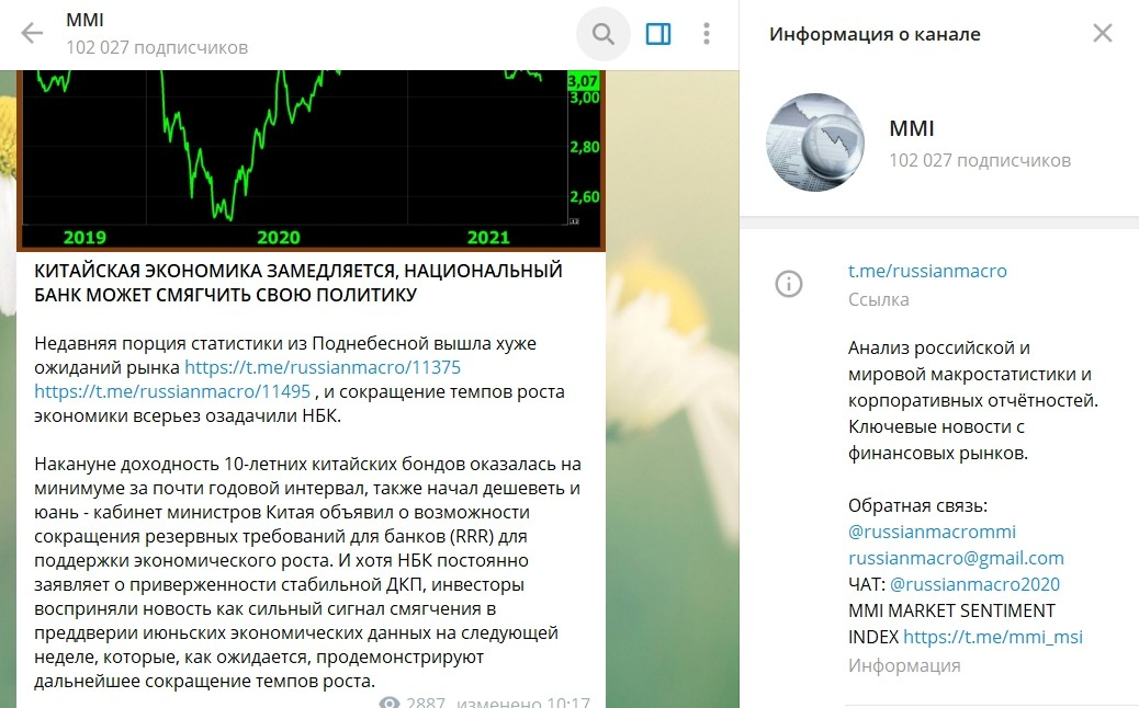 Телеграмм канал Кирилла Тремасова