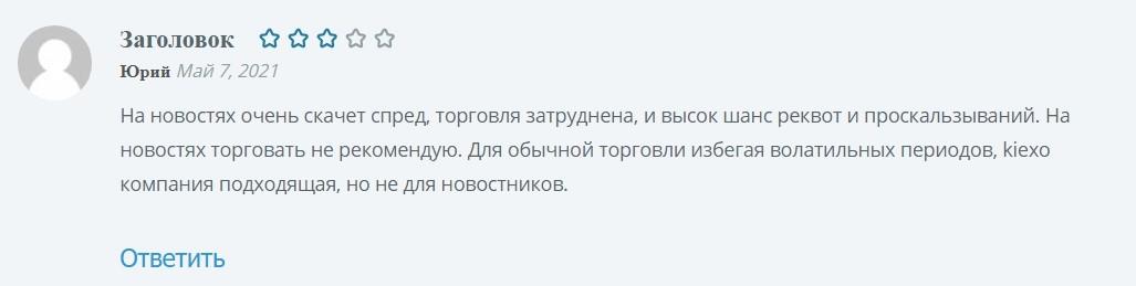 Kiexo com отзывы