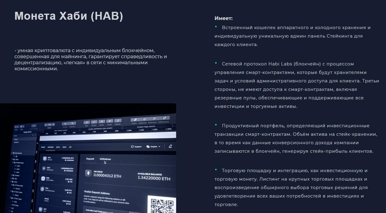 Официальный сайт проекта Dirham