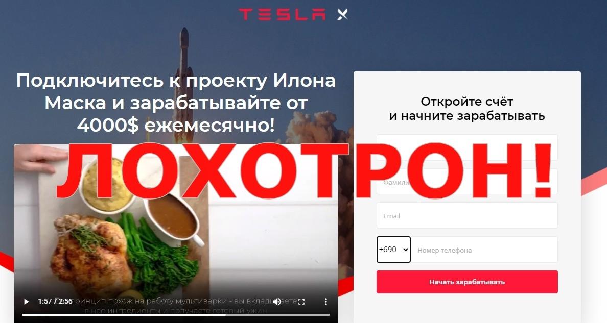 Инвестиционный проект Tesla X